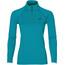 asics LS 1/2 Zip Jersey Hardloopshirt lange mouwen Dames blauw